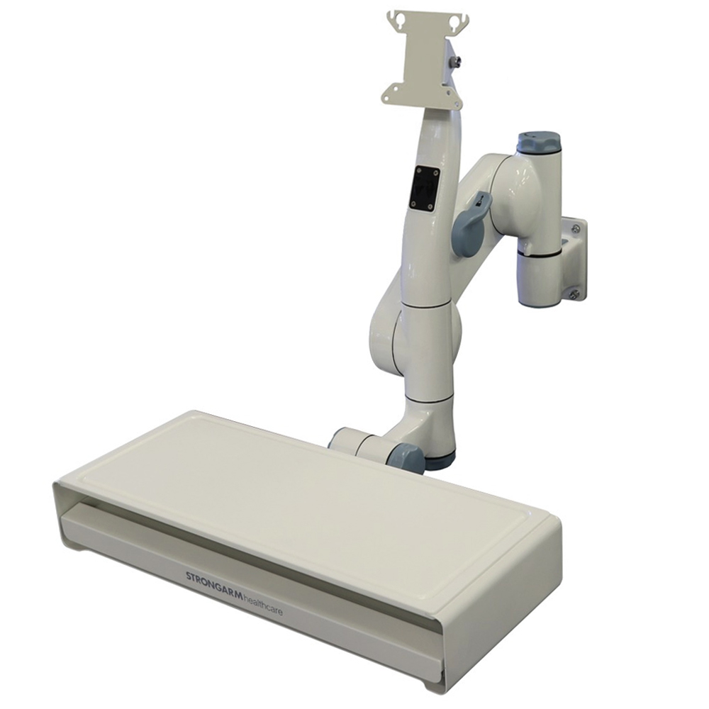 Strongarm Healthcare CleanMount Wall Arm