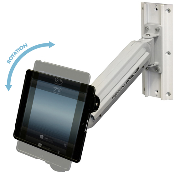 Strongarm Healthcare Tablet and Mobile Device Mountings
